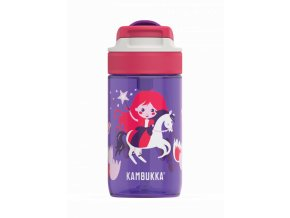 kids water bottle lagoon 400ml magic princess back
