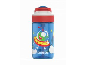 kids water bottle lagoon 400ml happy alien back 0