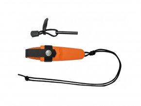 413 morakniv nuz eldris burnt orange neck knife kit