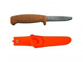 404 morakniv nuz floating serrated knife orange