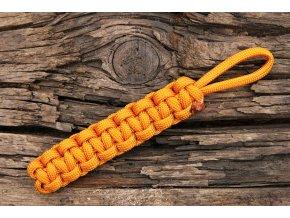 Paracord 550 oranžový
