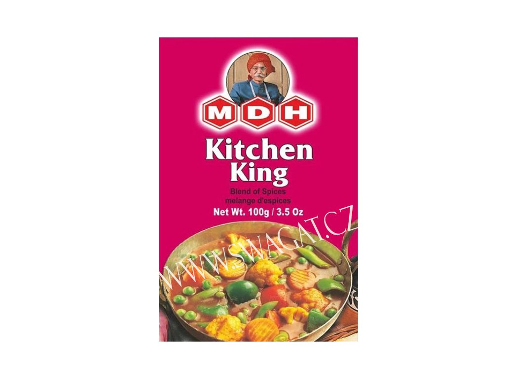 Kitchen King - koření na dušenou zeleninu (Spices for Steamed Vegetables), MDH 100g