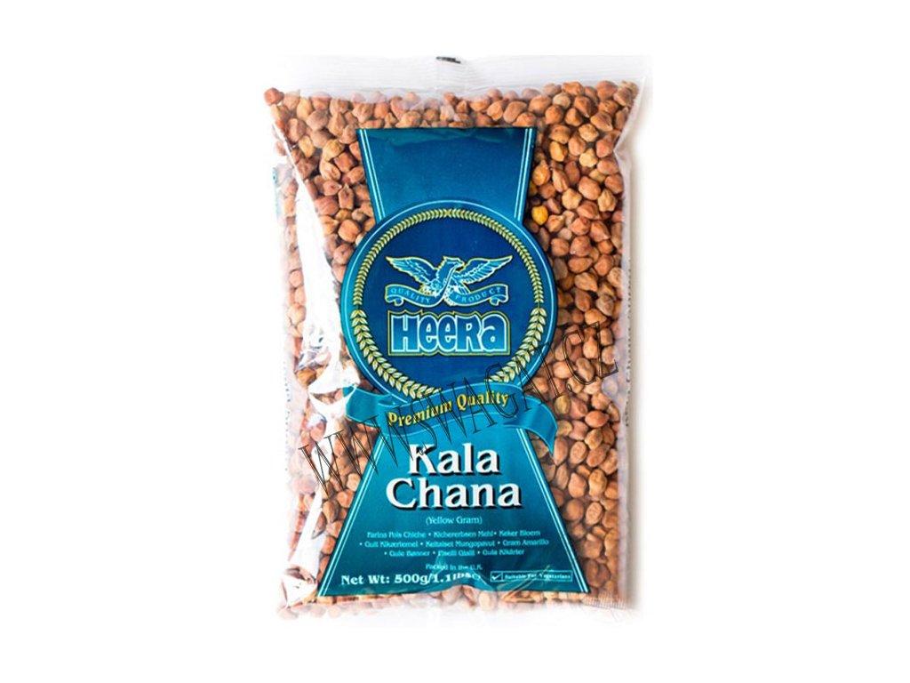 Kala Chana - hnědá cizrna, HEERA 500g