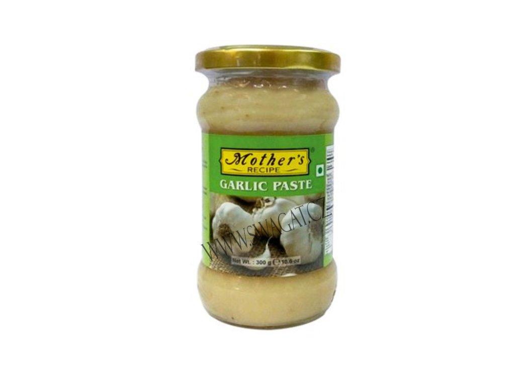 Česneková pasta (Garlic Paste), Mother`s Recipe