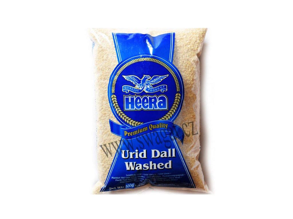 Bílá čočka Urid Washed, HEERA 500g