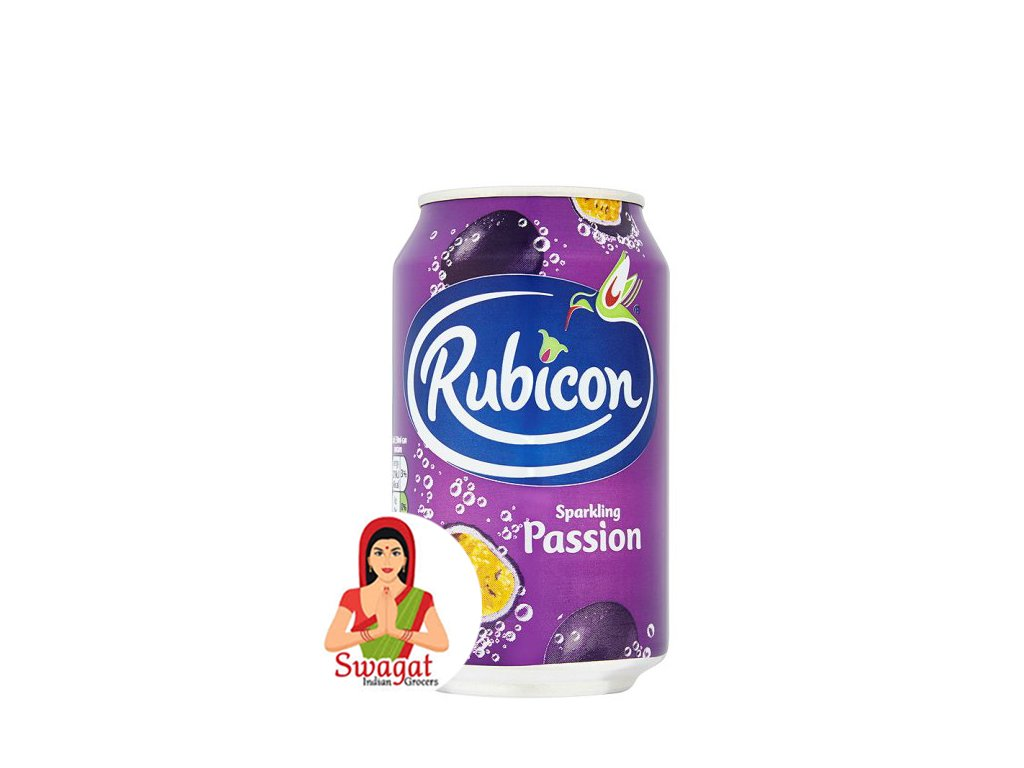 Marakujový džus (Passionfruit Juice), RUBICON 330ml
