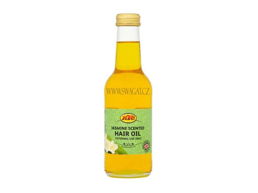 Jasmínový vlasový olej (Jasmine Hair Oil), KTC 250ml
