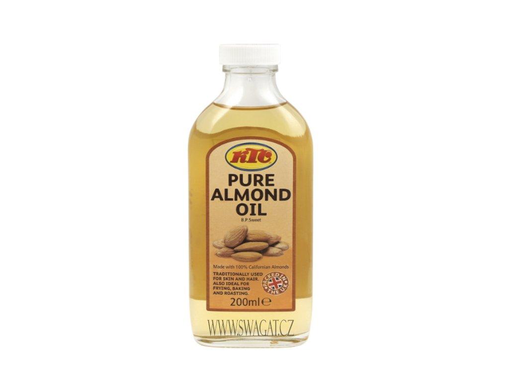 KTC Čístý mandlový olej 200ml