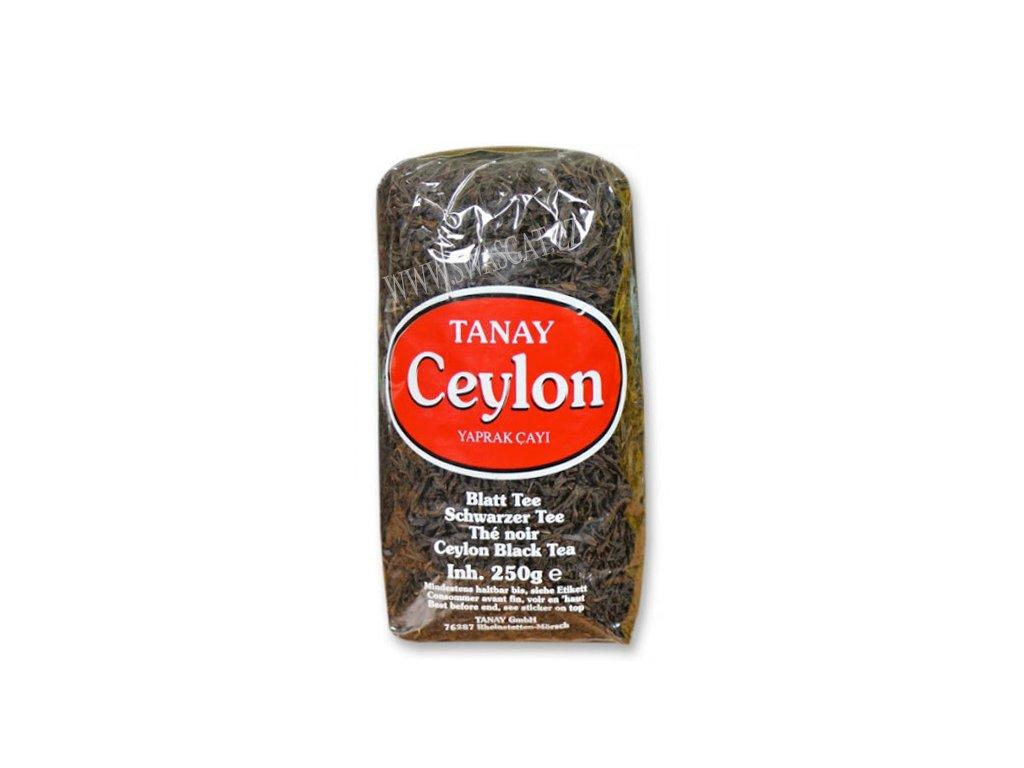 Turecký čaj cejlonský (Ceylon Yaprak Cayi), TANAY 250g