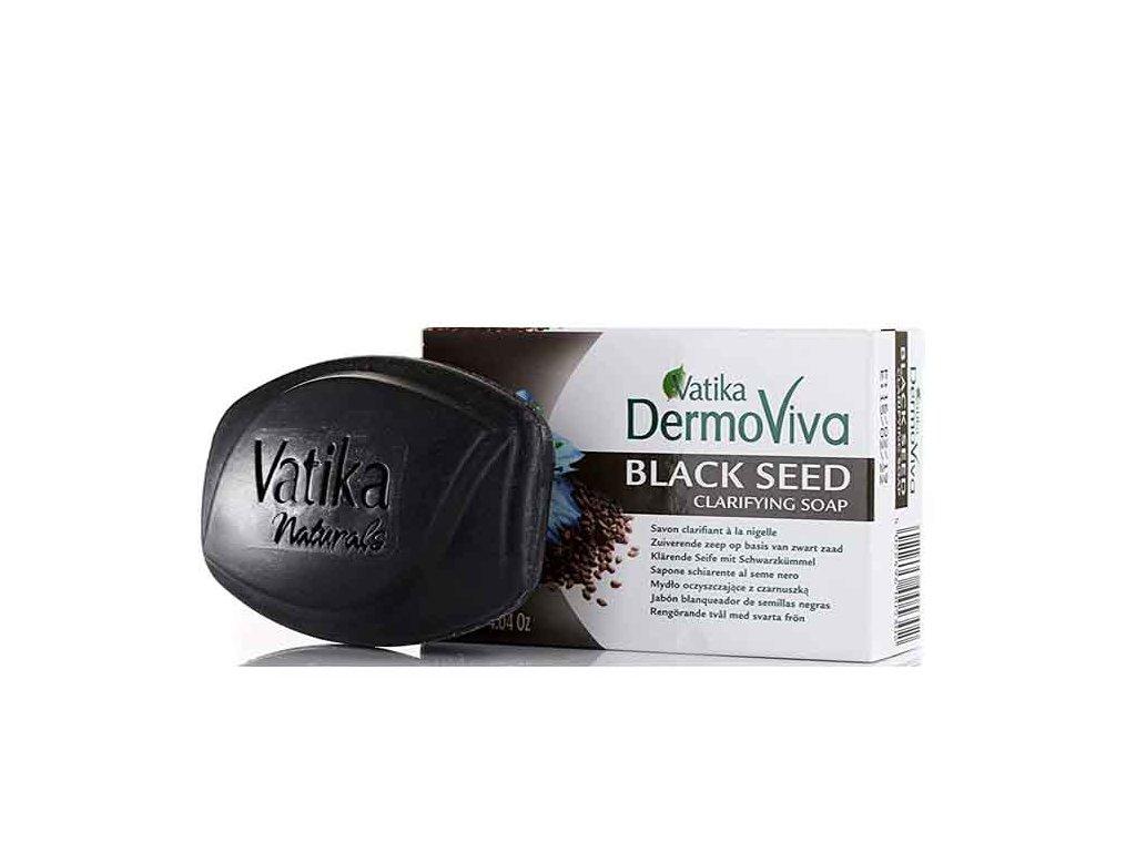 Mýdlo s černým semínkem (Black Seed Soap), Vatika DermoViva 115g
