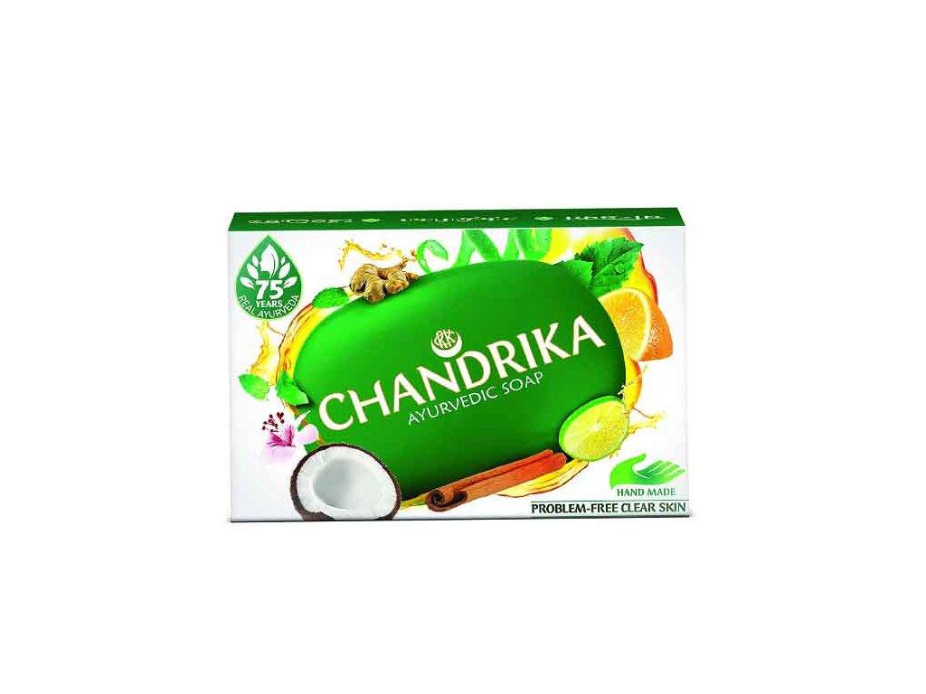 Ručně vyráběné Ajurvédské mýdlo (Ayurvedic Handmade Soap), Chandrika 75g
