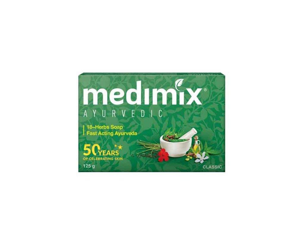 Ručně vyráběné Ajurvédské mýdlo (Ayurvedic Handmade Soap), Medimix 125g
