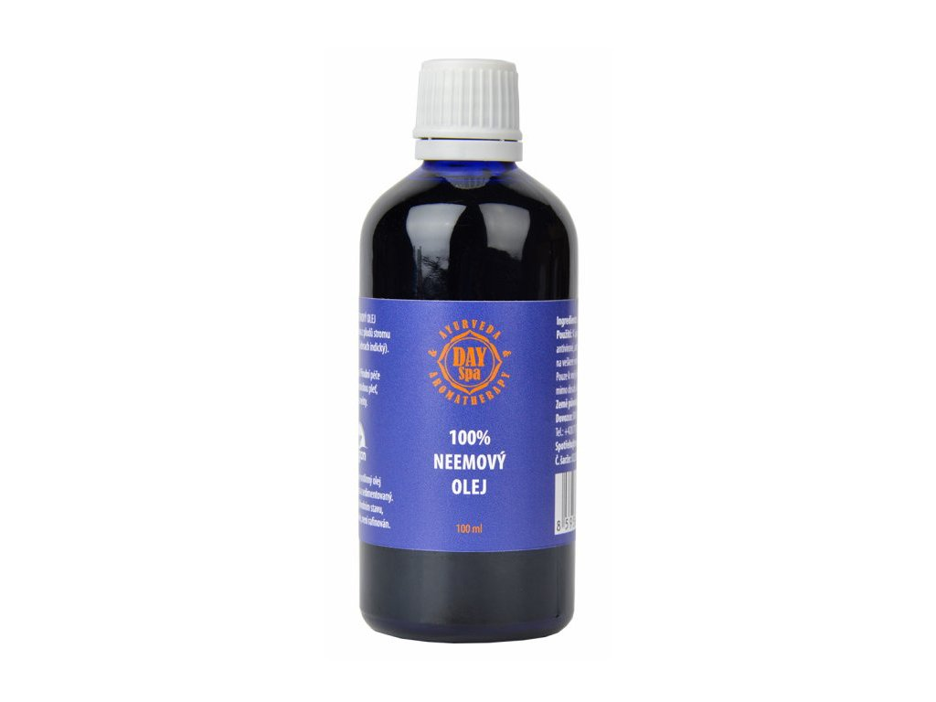 100% neemový olej (Neem Oil), Day Spa 100ml