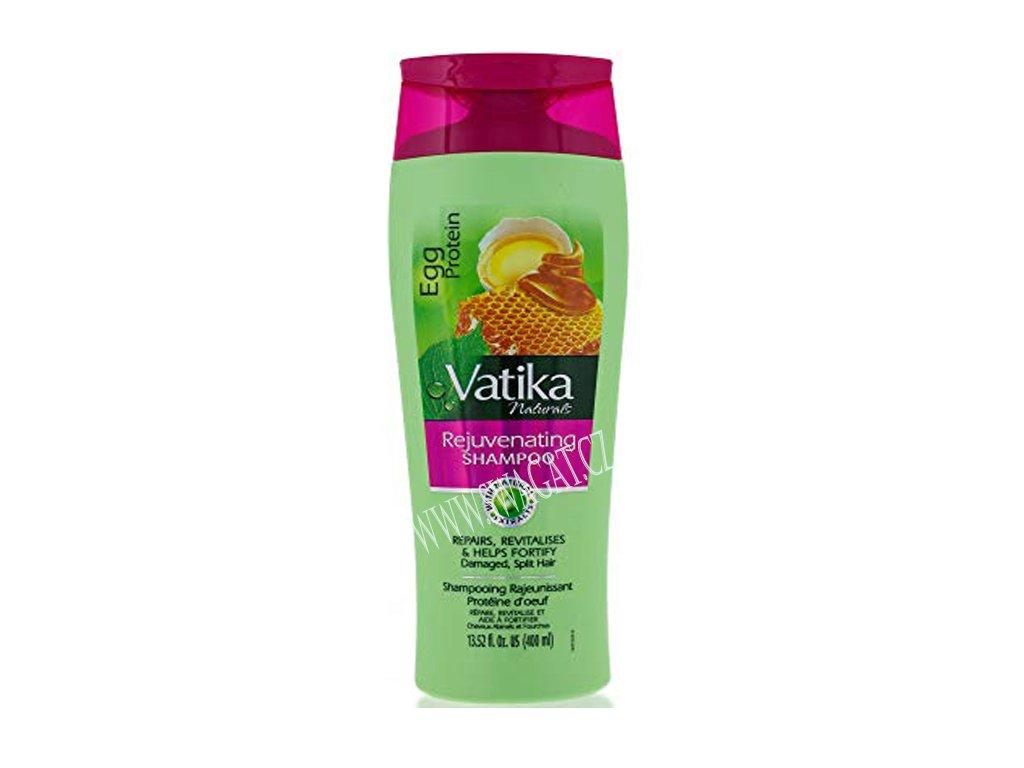 Šampon s vaječným proteinem (Egg Protein Shampoo), VATIKA 200ml