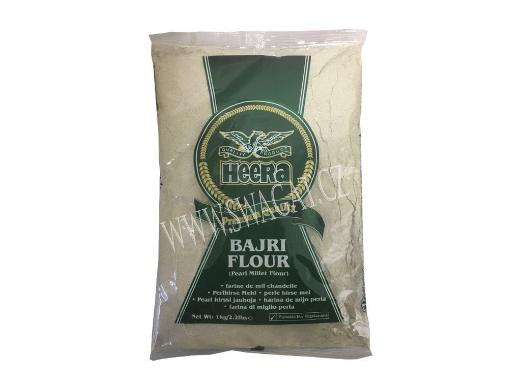 Jáhlová mouka (Bajri flour), HEERA 1kg