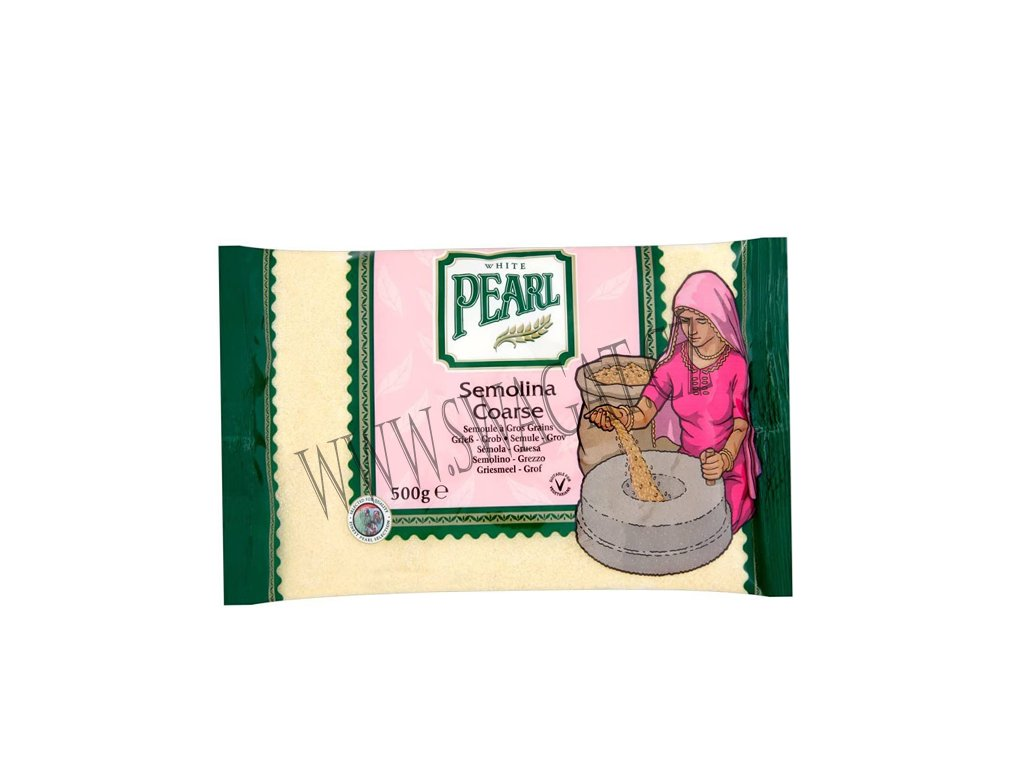 Suji - mouka semolinová hrubá (Semolina Flour Coarse), WHITE PEARL