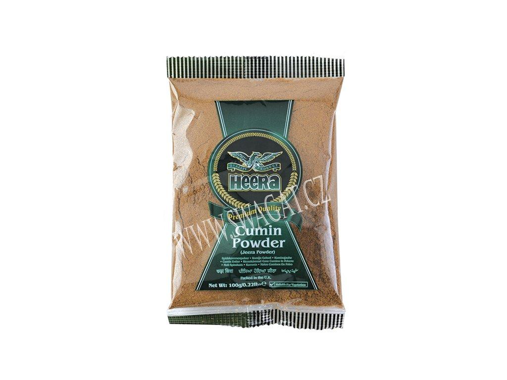 Jeera - římský kmín mletý (Cumin Powder), HEERA 100g