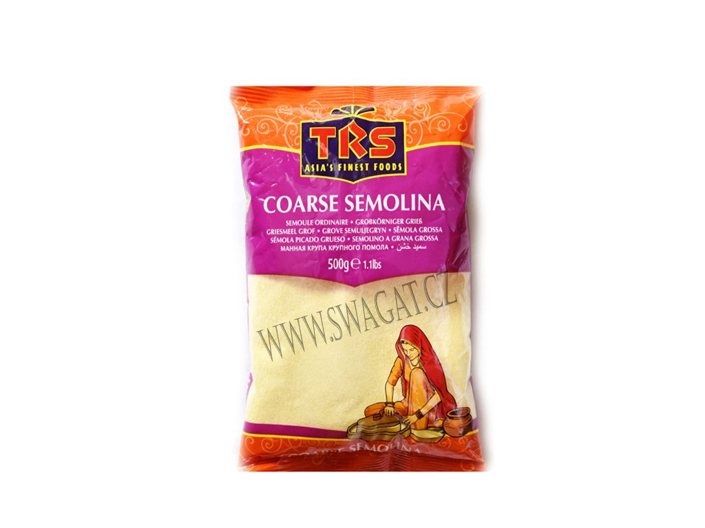 Mouka semolinová hrubá (Semolina Coarse), TRS