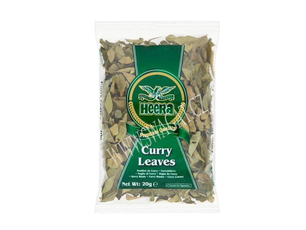 Kari listy (Curry Leaves), HEERA 20g
