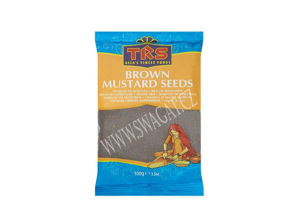 Hořčičné semínko hnědé (Mustard Seeds Brown), TRS 100g