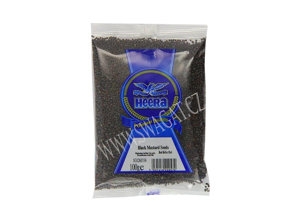 Hořčičné semínko černé (Mustard Seeds Black), HEERA 100g