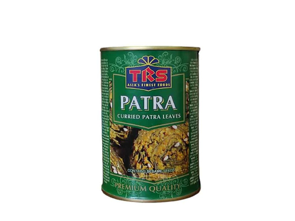Listy Patry v kari omáčce (Patra Leaves in Curry Sauce), TRS 400g