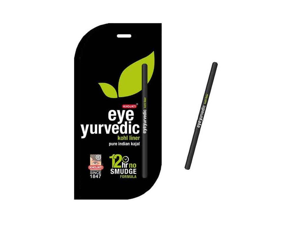 Přírodní ajurvédská kajalová tužka na očí (Pure Indian Kajal)