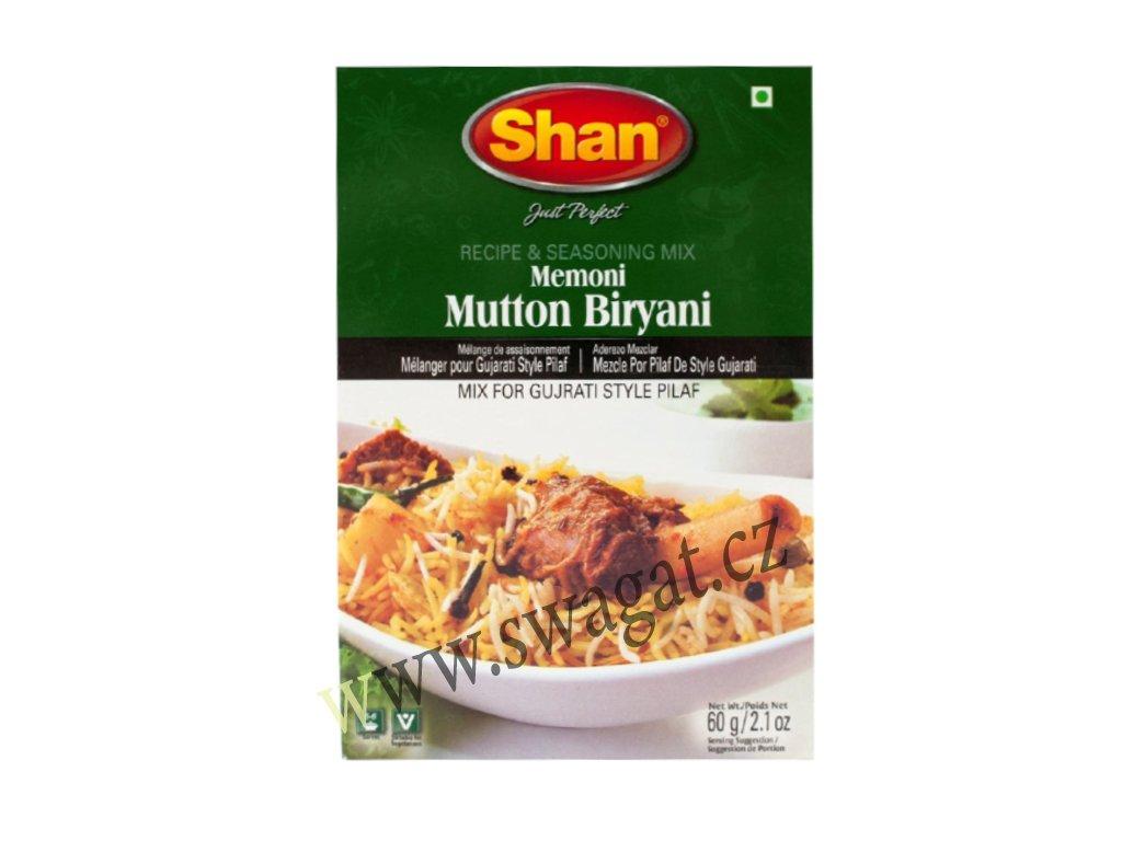 Memoni Mutton Biryani - koření na Jehnečí Biryani, SHAN 60g