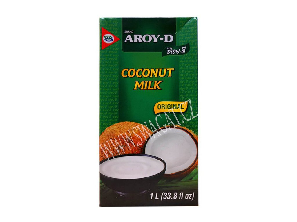 100% Kokosové mléko, AROY-D 1l