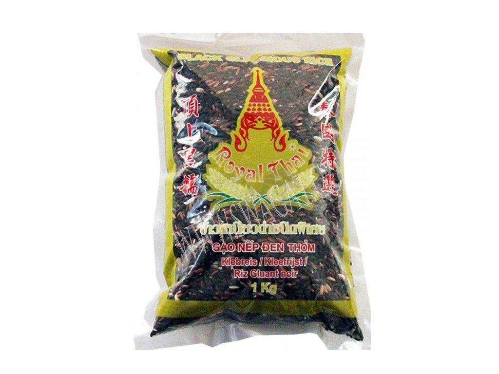 Černá lepkavá rýže, ROYAL THAI 1kg