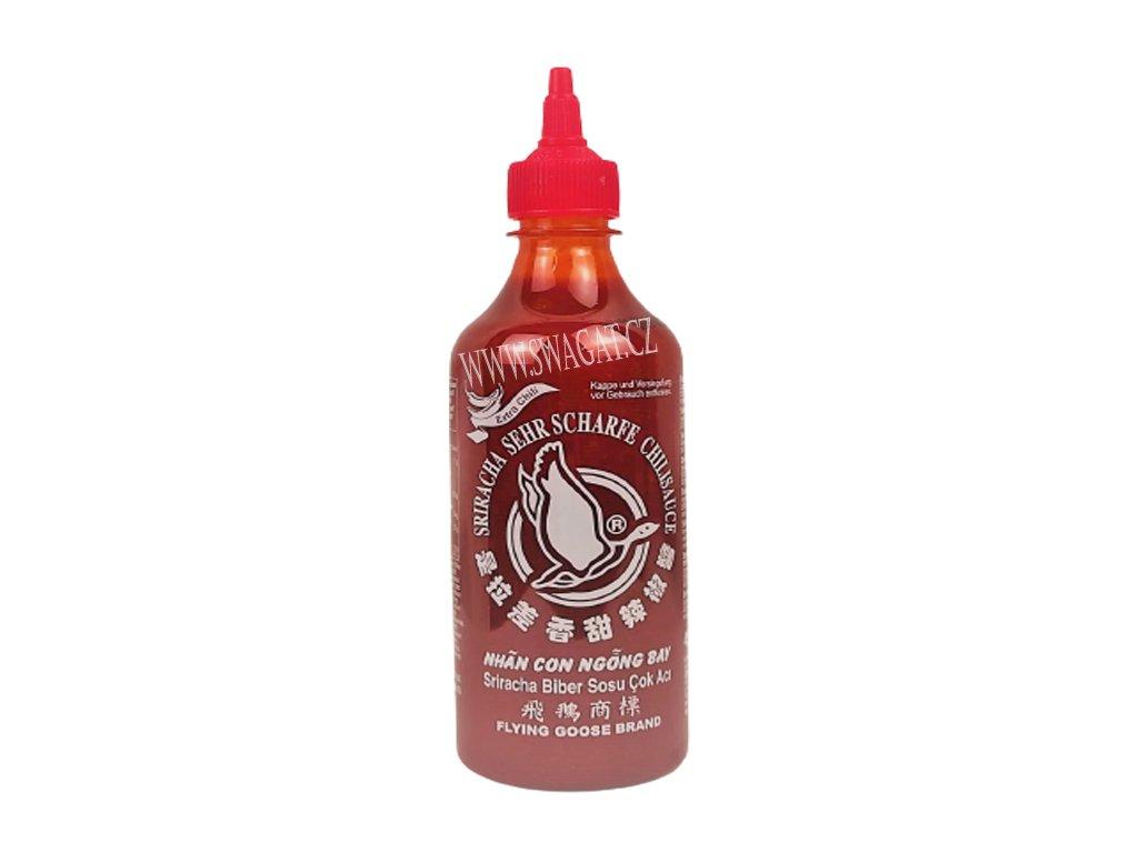 Sriracha Super Hot Chilli omáčka, FLYING GOOSE BRAND 455 ml