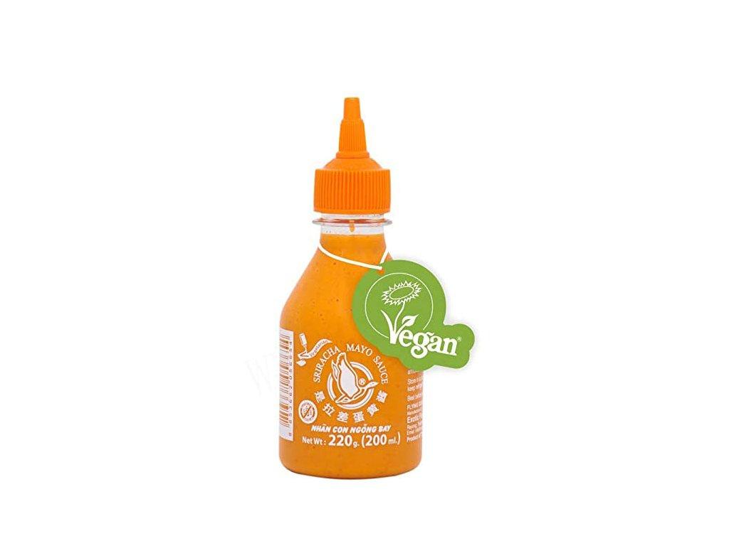 Sriracha Mayo omáčka, FLYING GOOSE BRAND  200ml