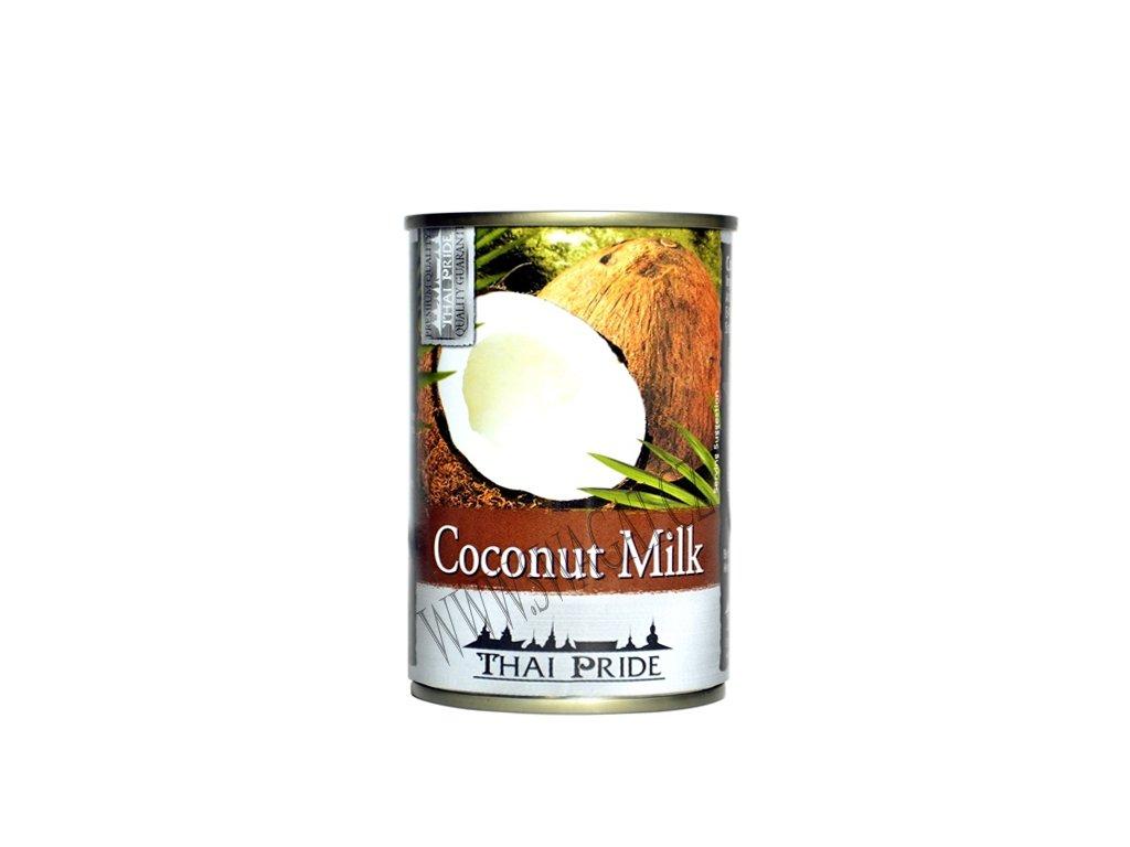 Kokosové mléko (Coconut Milk), THAI PRIDE 400ml