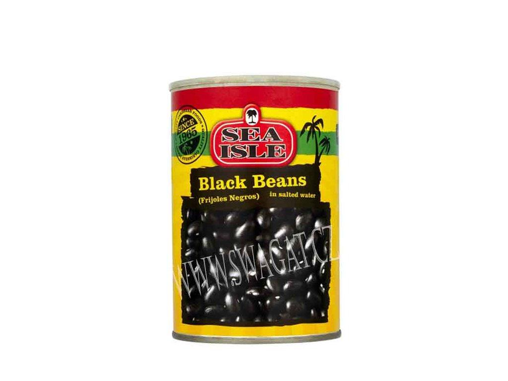 Frijoles Negros - fazole černé ve slánem nálevu, SEA ISLE 400g