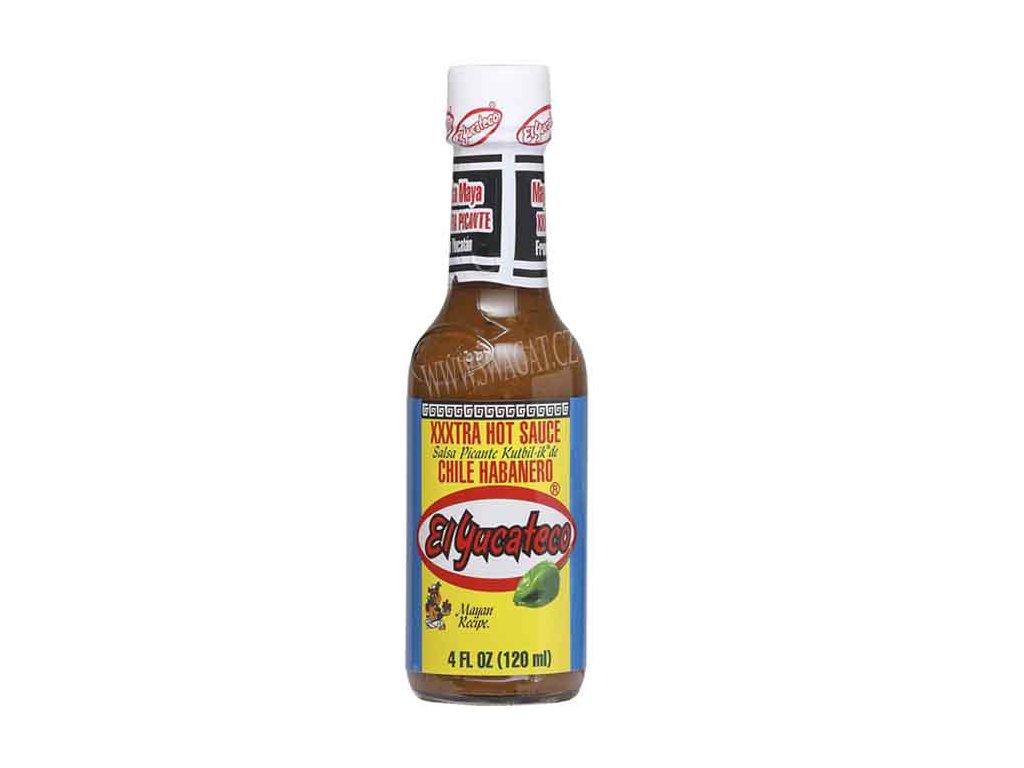 Salsa Kutbil-id de Chile Habanero – extra pikantní salsa, El YUCATECO 120ml
