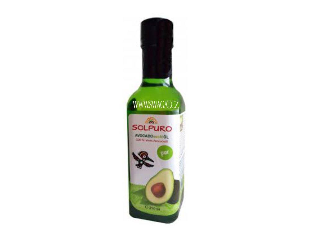 100% Avokádový olej (Avovado Oil), SOLPURO 250ml