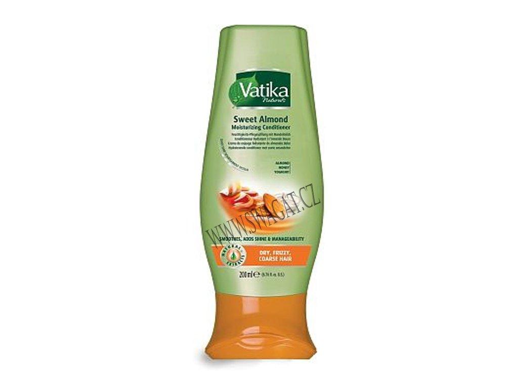 Hydratační kondicionér Sweet Almond (Moisturizing Hair Conditioner), Vatika 200ml