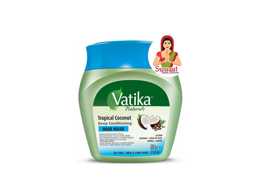 Tropical Coconut – maska na vlasy  (Hair Mask), VATIKA 500g