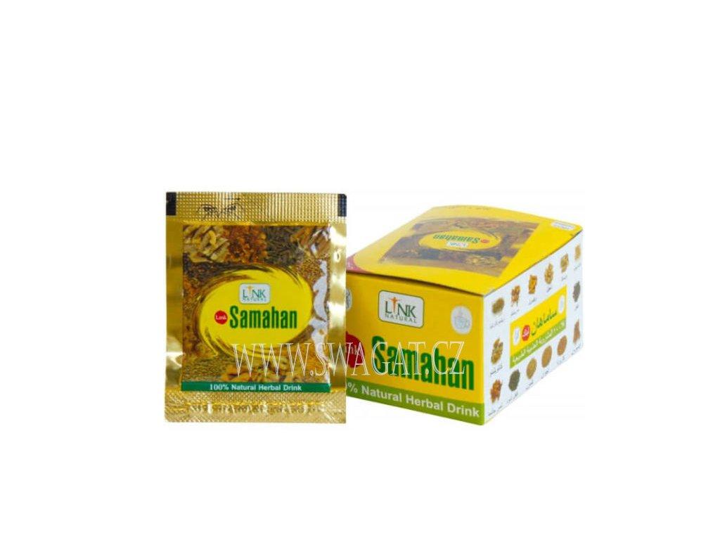 Ájurvédský bylinný čaj SAMAHAN 10 sáčků
