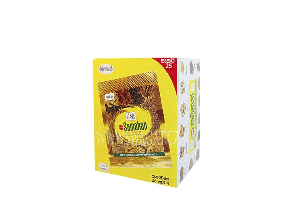 SAMAHAN Ájurvédský bylinný čaj 25 sáčků