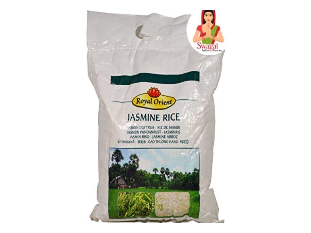 Royal Orient Jasmínová rýze (Jasmine Rice) 4,5Kg