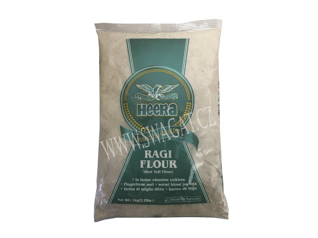 Ragi Flour - prosná mouka, HEERA 1kg