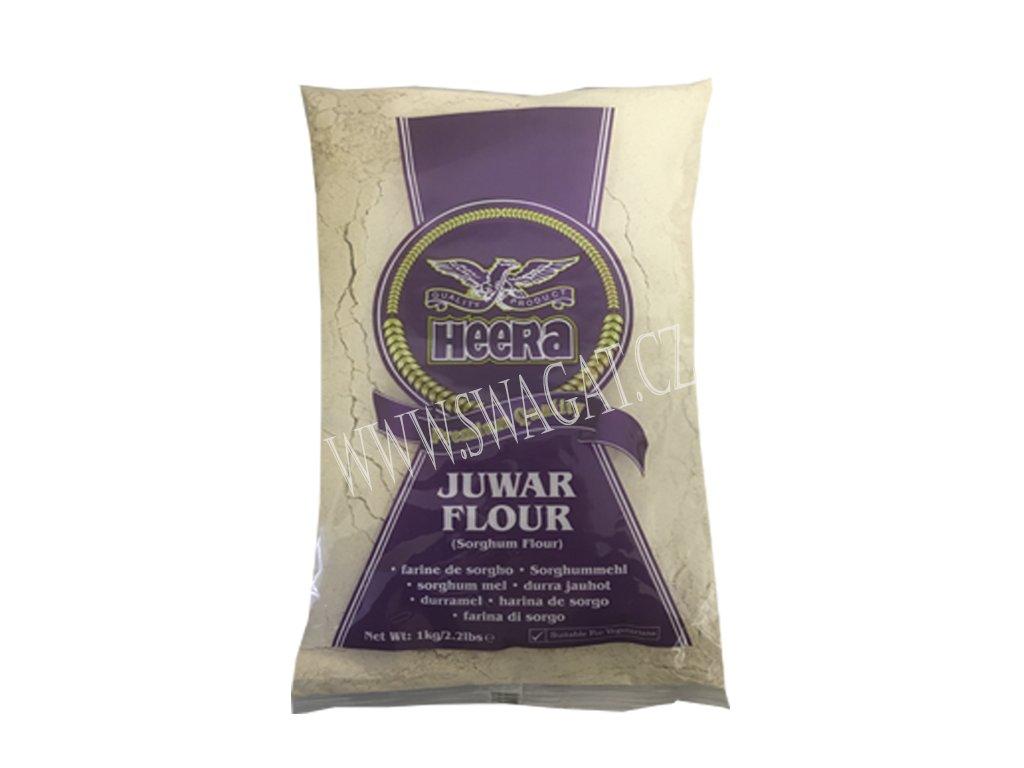 Juwar - čiroková mouka (Sorghum Flour), HEERA 1kg