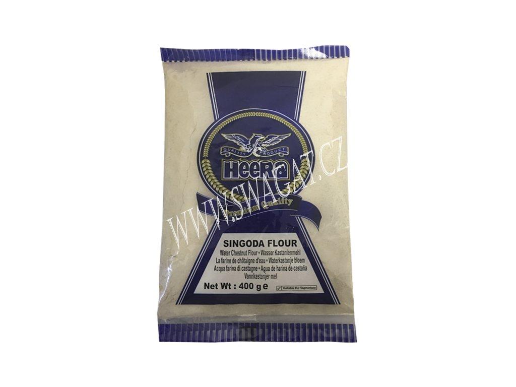Singoda – kaštanová mouka (Water Chestnut Flour), HEERA 400g