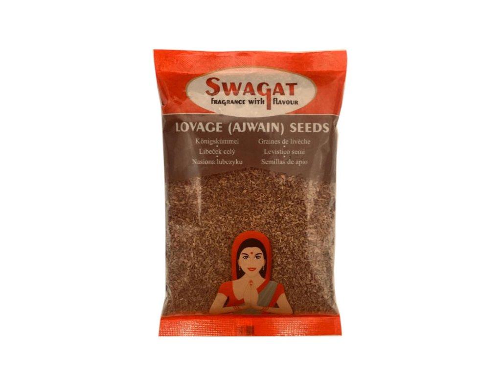 Ajwain -  Libeček semínko (Lovage Seeds), SWAGAT