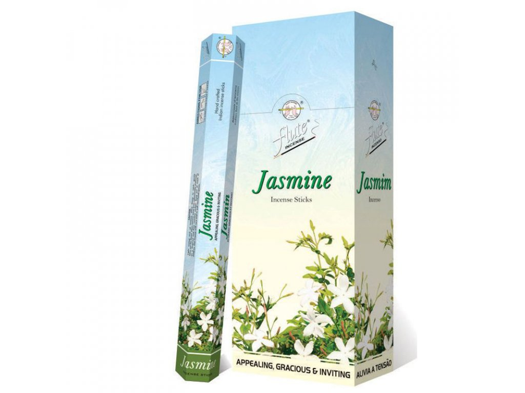 Vonné tyčinky Jasmín (Jasmine Incense Sticks), 20pc