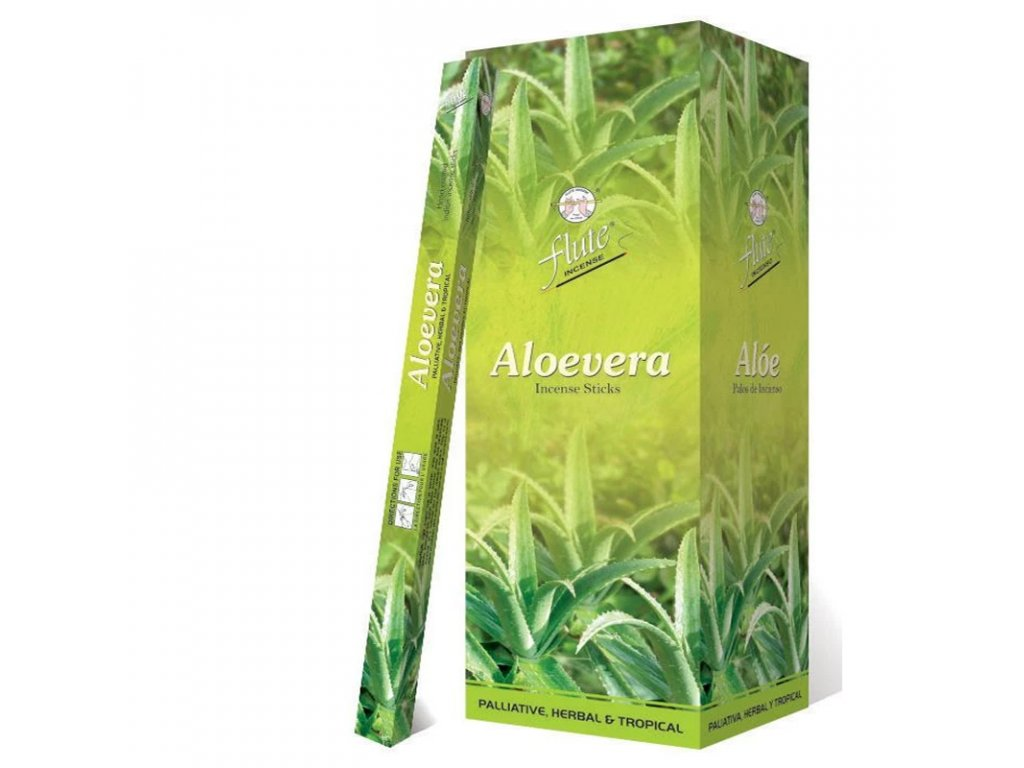 Vonné tyčinky Aloe vera (Aloe Vera Incense Sticks), 20ps