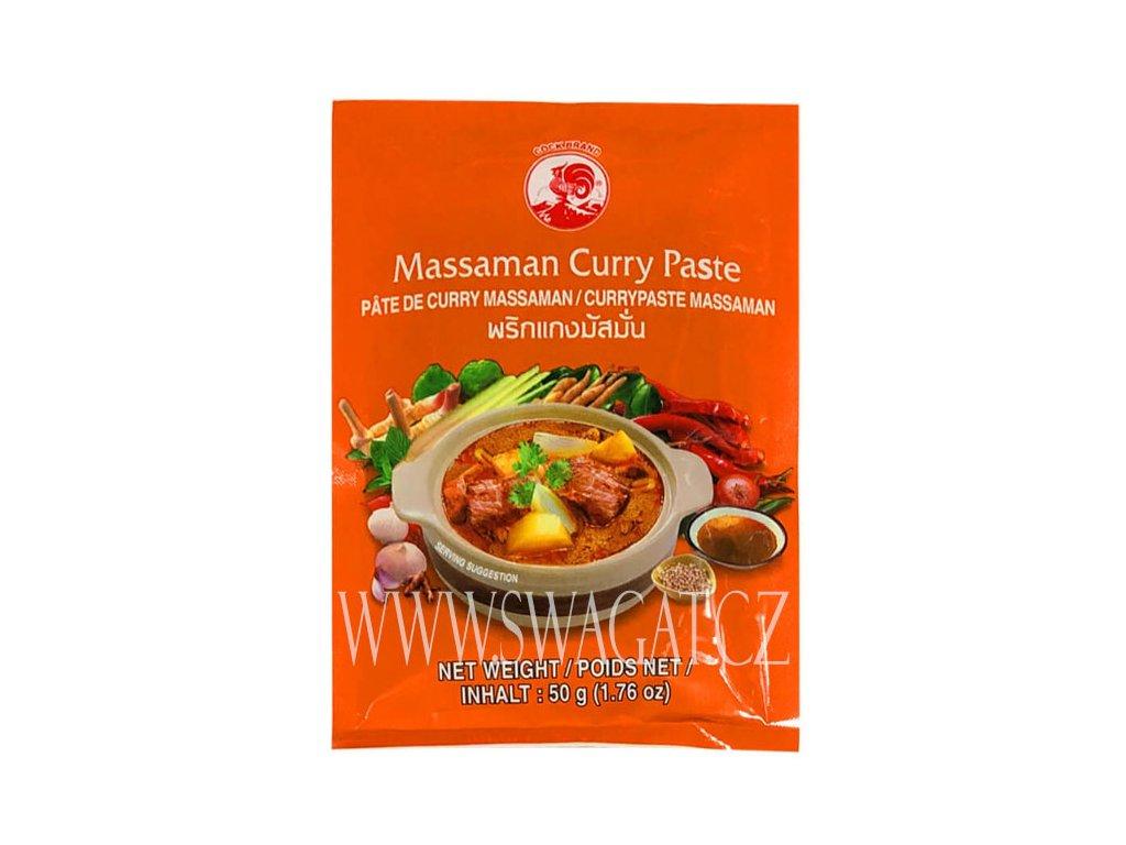 Massaman kari pasta (Curry Paste), COCK BRAND 50g