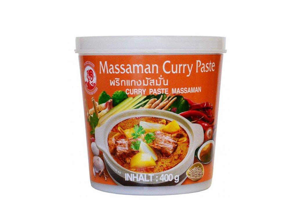 Massaman kari pasta (Curry Paste), COCK BRAND 400g