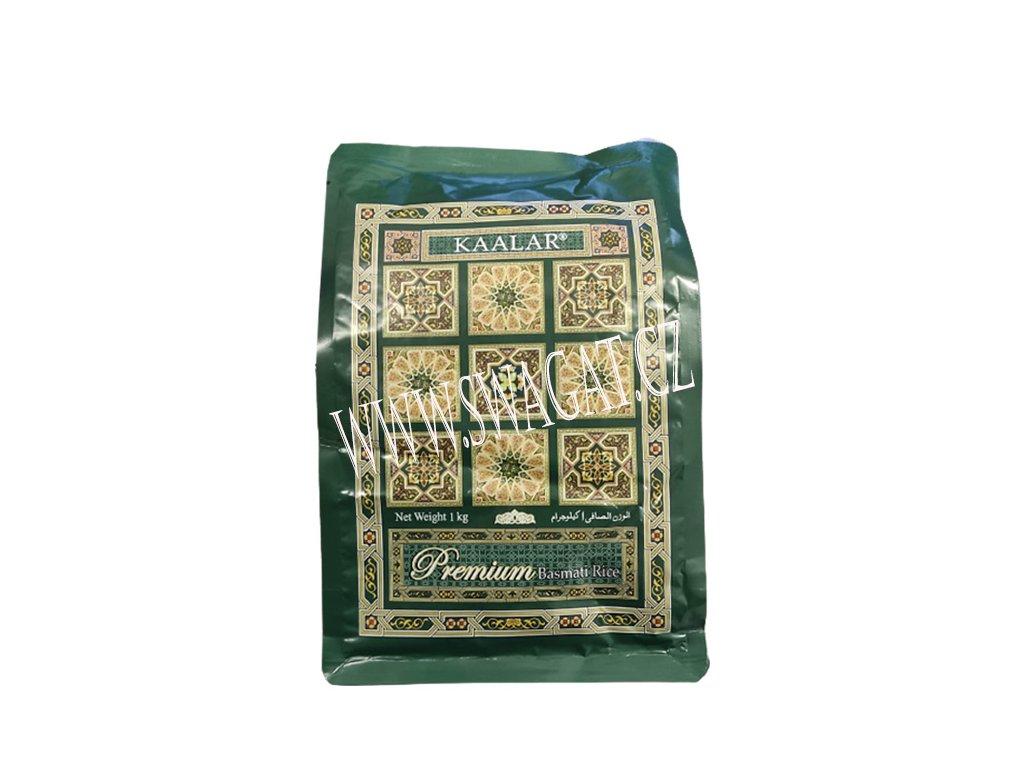 Basmati rýže Premium Super White, KAALAR 1Kg